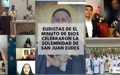 Eudistas de El Minuto de Dios Celebraron la Solemnidad de San Juan Eudes