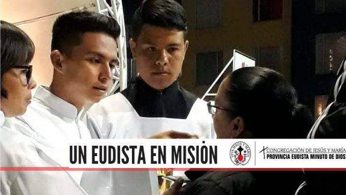 ¡Un Eudista en misión!