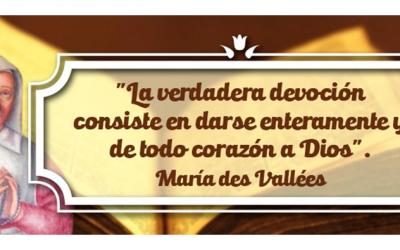La familia Eudista conmemora la Pascua de la Sierva de Dios María Des Vallés