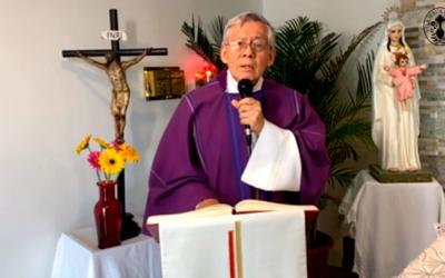 Eudistas de El Minuto de Dios guiaron retiro de Cuaresma bajo la temática del combate espiritual