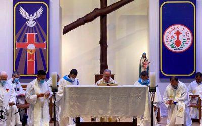 Provincia Eudista Minuto de Dios celebró el Aniversario N° 378 de la Congregación de Jesús y María