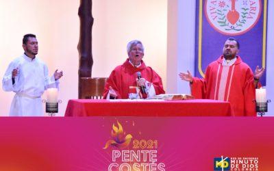 """Eudistas de El Minuto de Dios clamaron """"Un Nuevo Pentecostés"""" para Colombia"""