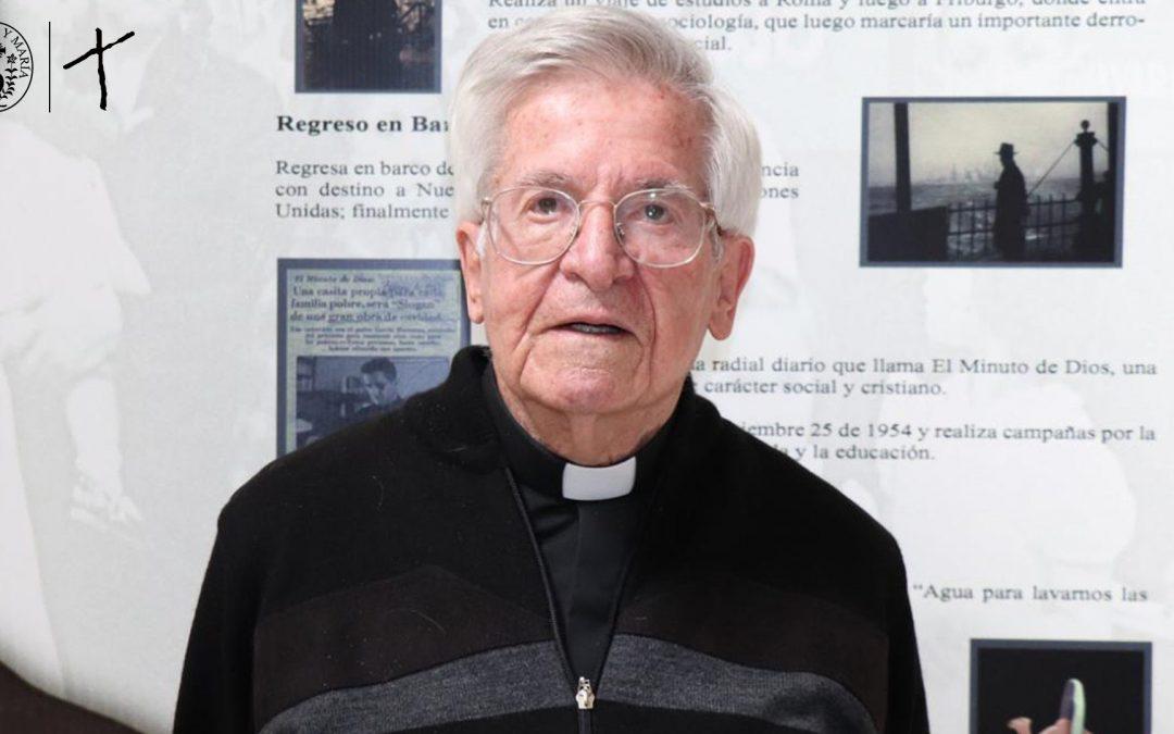 Una misión que sigue dando frutos: Padre Diego Jaramillo